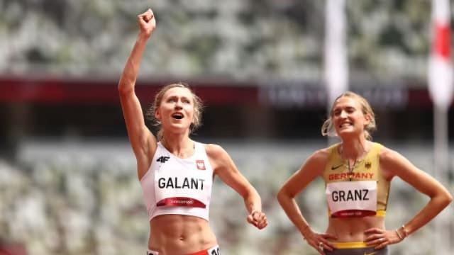 Martyna Galant z Witkowa w półfinale biegu na Igrzyskach w Tokio
