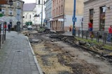 W Mysłowicach trwa remont torowiska tramwajowego. Ulica Bytomska jest całkowicie rozkopana. To jedna z ważniejszych miejskich inwestycji