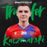 Iwo Kaczmarski nowym zawodnikiem Rakowa. Częstochowski klub staje się ważnym graczem na rynku transferowym