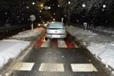 Wypadek w Krośnie. Potrącenie kobiety na przejściu dla pieszych. 60-latka była pijana