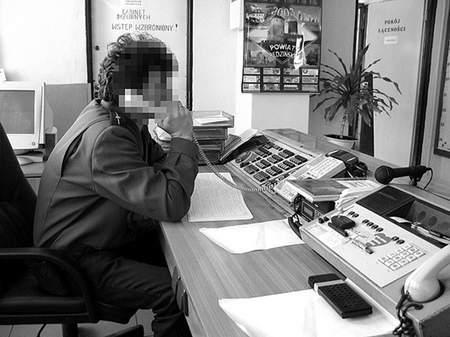 Policjant, któremu postawiono zarzuty, jest doświadczonym funkcjonariuszem. Fot: OLgierd gÓrny