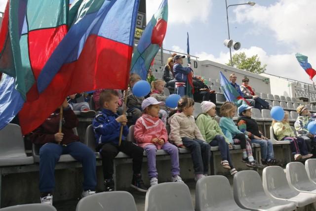 Przedszkolaki z wizytą w klubie Miedź Legnica