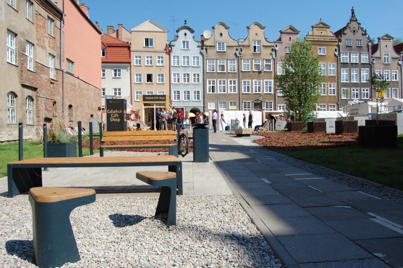 W Gdansku Stana Meble Miejskie Ich Prototypy Pojawily Sie Przy