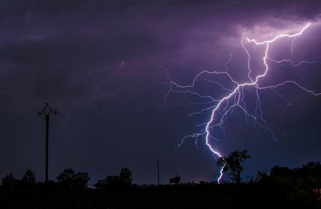 W województwie lubelskim znów prognozowane są burze z gradem