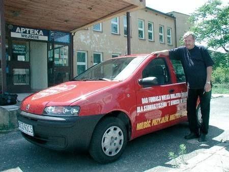 Samochód od Wielkiej Orkiestry Świątecznej Pomocy będzie służył ośrodkowi preadopcyjnemu. Foto: JAKUB MORKOWSKI