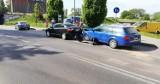 Kolizja drogowa na ulicy Poniatowskiego w Słupsku [ZDJĘCIA]