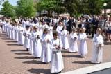 Druga grupa dzieci z parafii pw. św. Wojciecha w Wągrowcu przystąpiła do Pierwszej Komunii Świętej