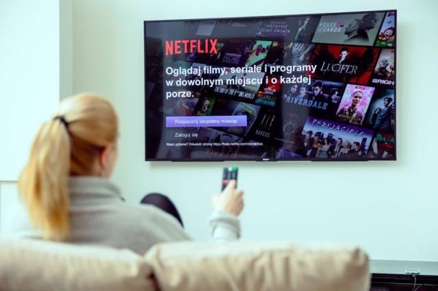 Netflix nigdy nie prosi o podanie danych osobowych przez e-maila czy wiadomość SMS!