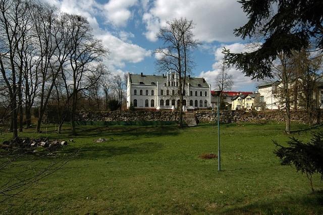 Ruiny zamku w Czarnem