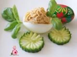 Jajka faszerowane pasztetem drobiowym