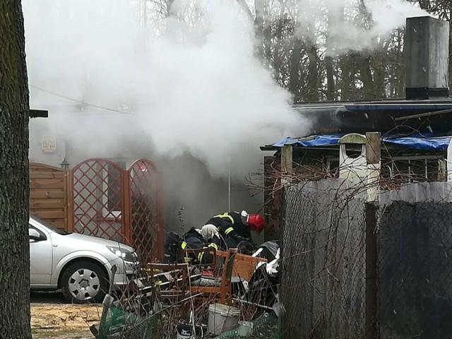 Pożar w mieszkaniu na ulicy Sobieskiego! Jedna osoba poszkodowana!