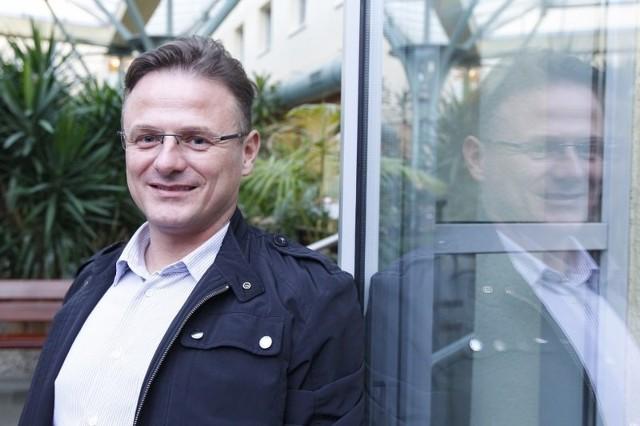 Maciej Wiznerowicz, lekarz z Wielkopolskiego Centrum Onkologii i Uniwersytetu Medycznego w Poznaniu