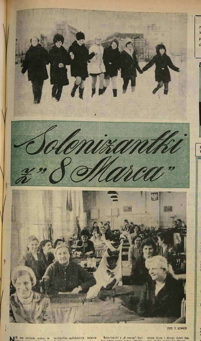 Skany archiwalnych wydań gazet z 8 marca