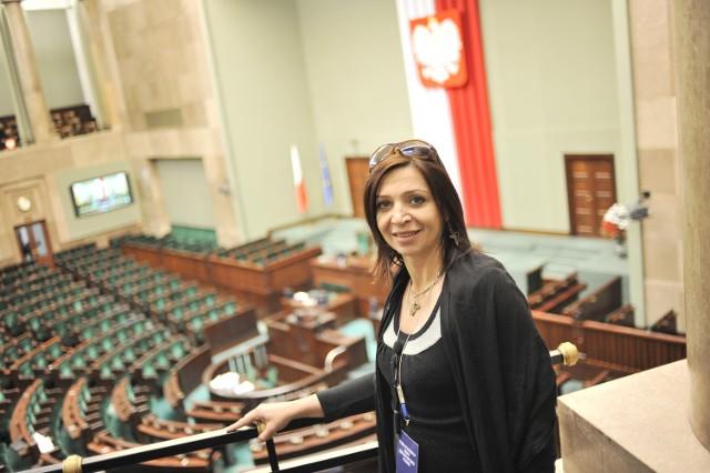 Małgorzata Niemczyk w Sejmie