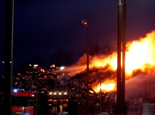 Dzieci obejrzały pożar w internecie i postanowiły same coś podpalić