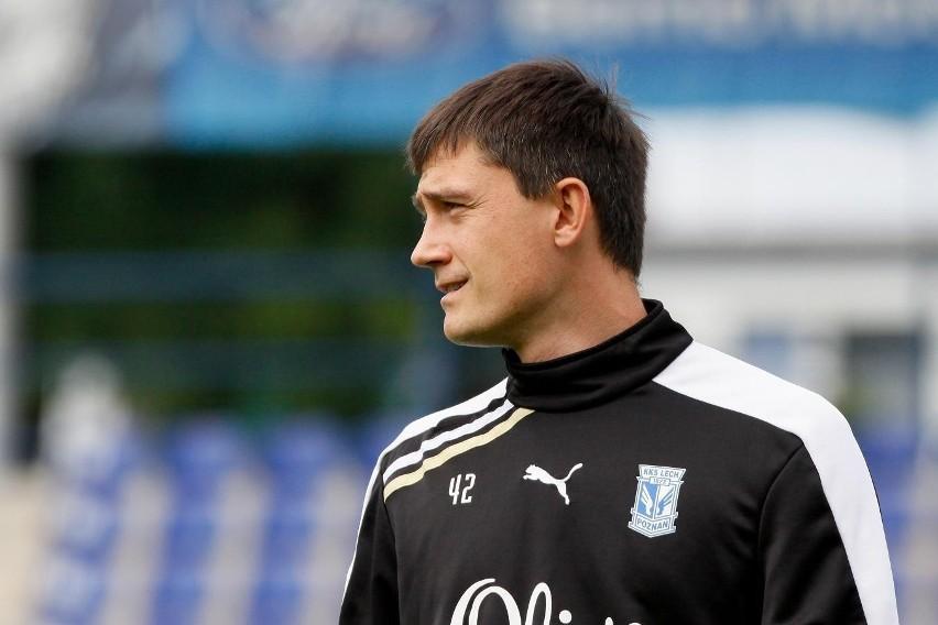 Trener Mariusz Rumak stawia na młodych