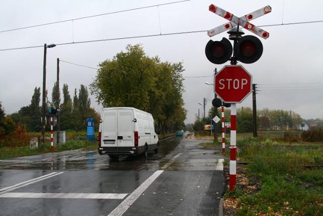 Przejazd na ul. Edwarda w Łodzi nie należy do najbezpieczniejszych
