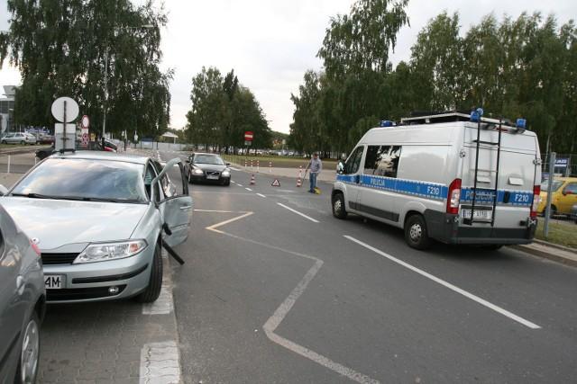 Wypadek na Lublinek