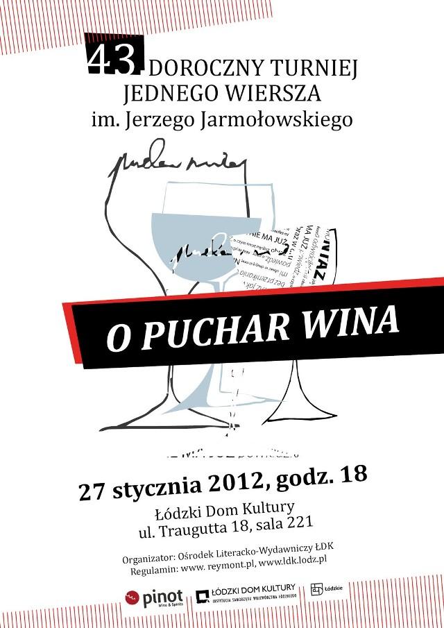 Poeci powalczą o puchar wina