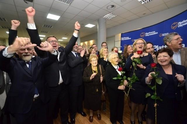 Z sondaży wynika, że w Poznaniu Platforma Obywatelska zdobyła ponad połowę głosów.