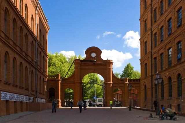 Manufaktura - jedna z głównych atrakcji turystycznych w Łodzi