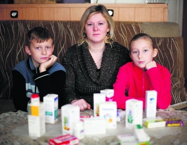 Magda Rybacka, mama Pauliny i Przemka, na wszelki wypadek zawsze ma pełną apteczkę