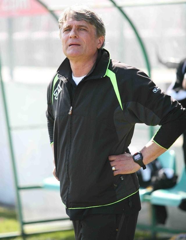 Adam Nawałka, trener GKS-u Katowice