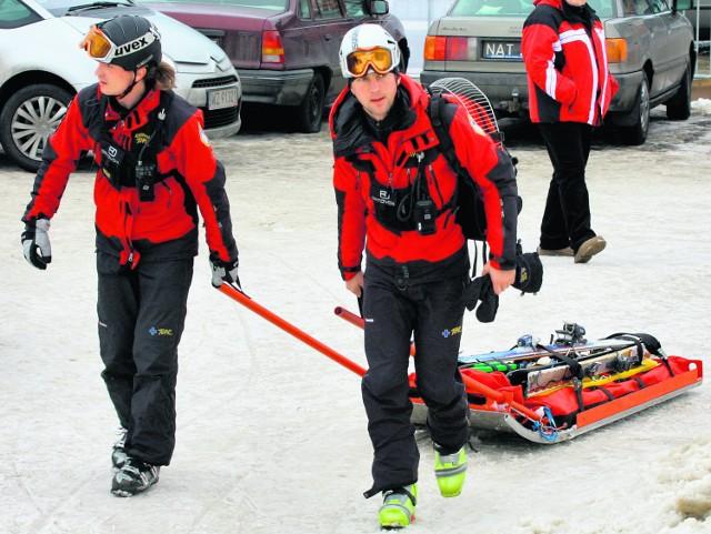 Właściciele stacji narciarskich na Podtatrzu od dawna korzystają z pomocy TOPR