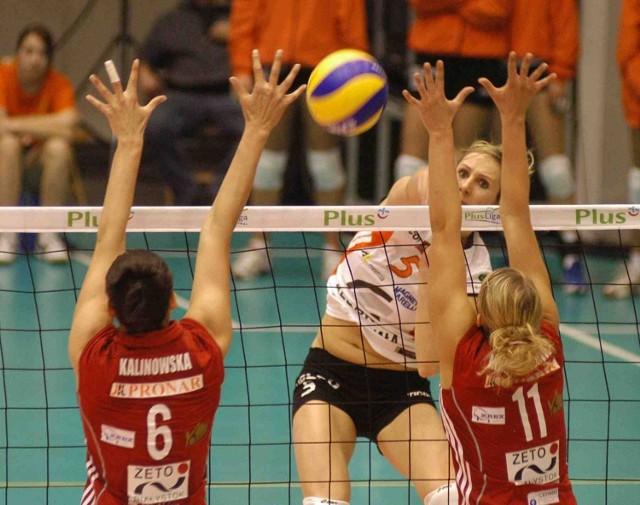 Helena Horka (w ataku) została wybrana MVP meczu