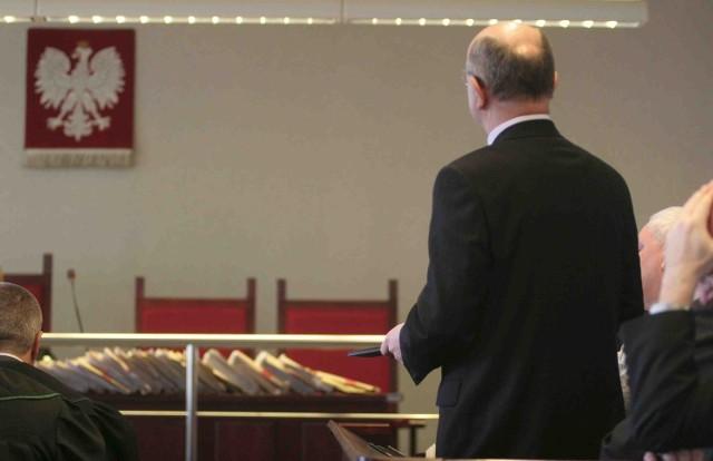 Kazimierz D. jest ostatnim z oskarżonych składającym przed sądem wyjaśnienia