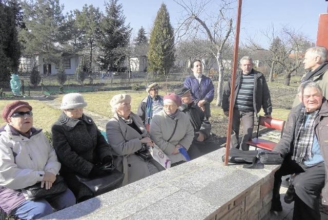 We wtorek działkowcy spotkali się w ROD im. 23 lutego, aby omówić swoją sprawę