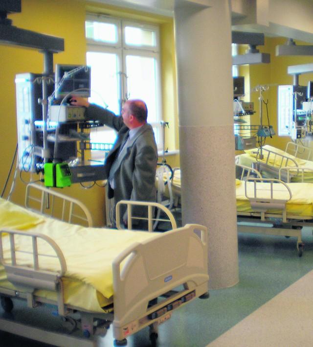Szpital znacznie poprawił swój wygląd i wyposażenie. Wciąż sporo jest jednak do zrobienia