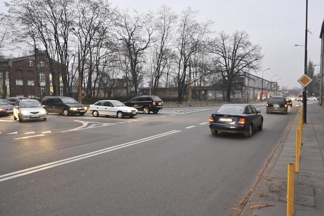 Ulice Czerwona i Wróblewskiego miały być połączone na jednym skrzyżowaniu