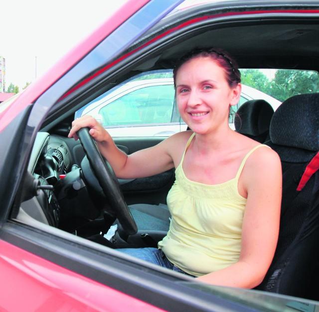 Beata Staśkiewicz z Łączy koło Gliwic ma prawo jazdy 2 lata