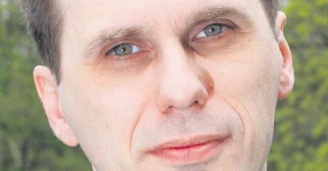 Mariusz Szymyślik, prezes Radia Merkury.