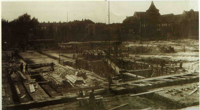 Budowa skarbca umieszczonego w podziemiach Urzędu Wojewódzkiego w Katowicach