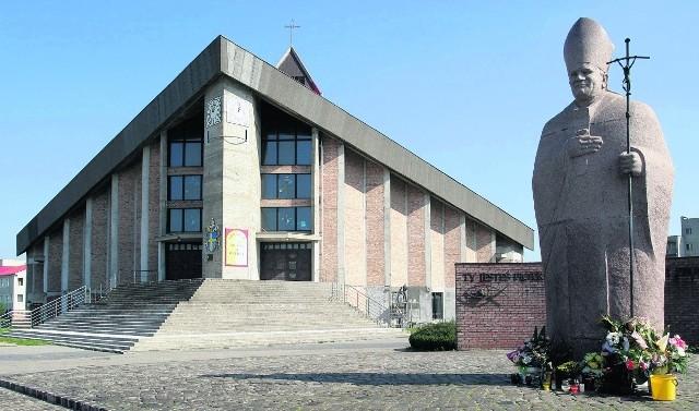 Na gdańskiej Zaspie Papież poświęcił kamień węgielny pod budowę kościoła - parafii Opatrzności Bożej