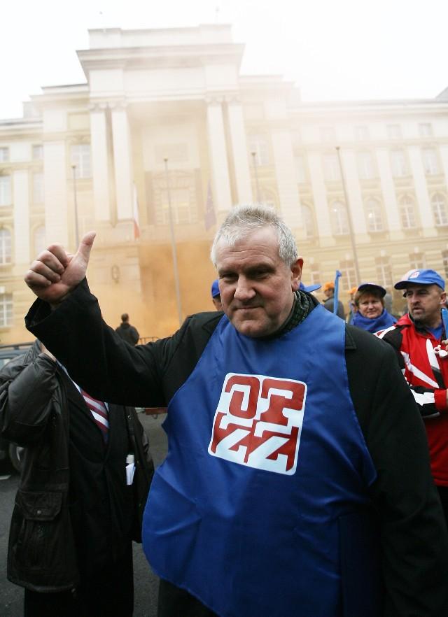 Jan Guz, szef OPZZ