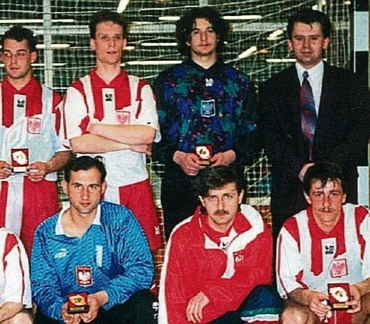 Artur Jankowski z reprezentacją Polski na turnieju  w Belgii