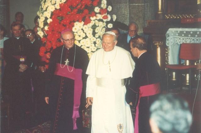 Jan Paweł II w katedrze