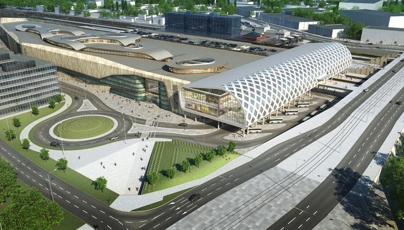 8. Modernizacja Dworca Głównego PKP:  zakończenie kwiecień...