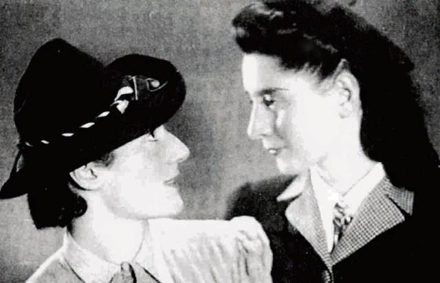 Ala Gertner i Sala Garncarz w Sosnowcu, wrzesień  1941  rok
