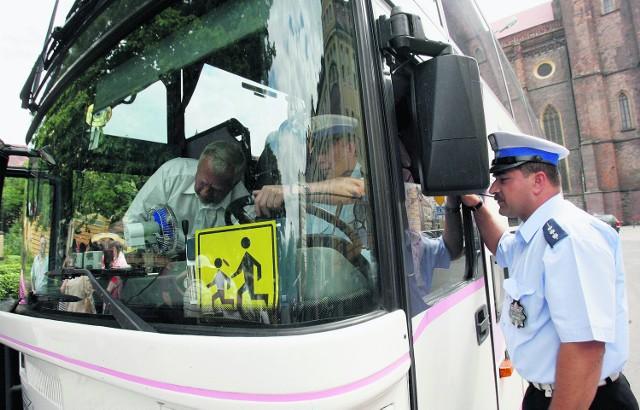 Podczas ubiegłorocznych wakacji policjanci skontrolowali 1156 autobusów w Małopolsce