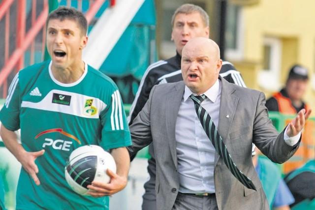 Maciej Bartoszek były trener GKS Bełchatów, został szefem wysypiska śmieci.