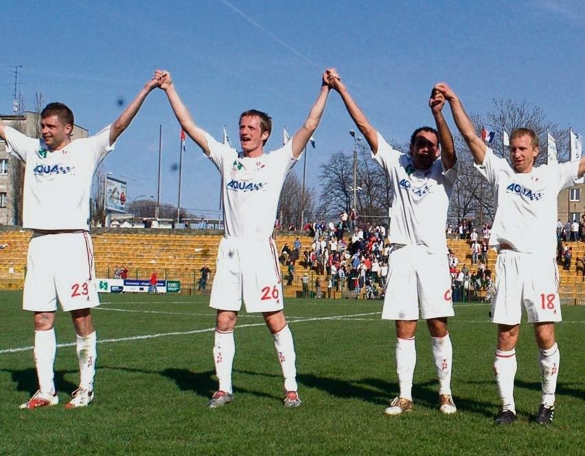 Piłkarze Podbeskidzia cieszyli się, bo wygrali pierwszy w tym roku mecz na wyjeździe