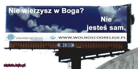 Tak będzie wyglądał jeden z billboardów