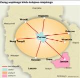 Wspólny bilet aglomeracji poznańskiej na pociąg i tramwaj - od lutego