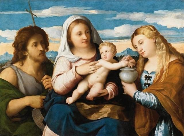 Dzieła, które można zobaczyć na wystawie Tycjan - Veronese - Tiepolo.