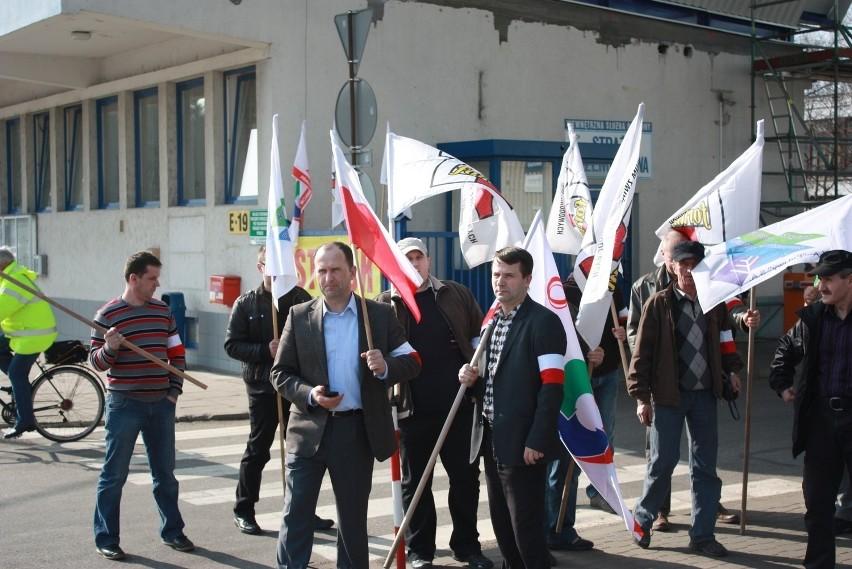 Strajk okupacyjne w Zakładach Azotowych Puławy