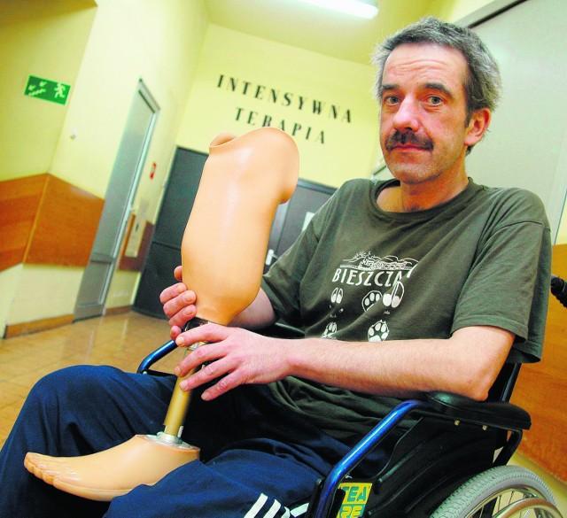 Piotr Gdak zostanie w szpitalu jeszcze tylko kilka dni